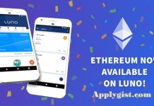 Ethereum Now available On Luno