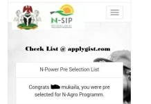 Npower 2017/2018 Full List PDF