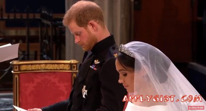Funny Moments Meghan and Harry Wedding