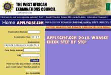 2018 WAEC Check