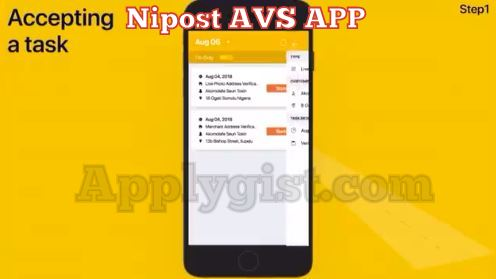 Accepting Nipost AVS Tasks