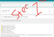 Download HTTP Injector free internet mtn congiguration