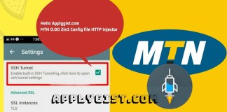 MTN 0.00 2in1 Config file HTTP Injector applygist.com