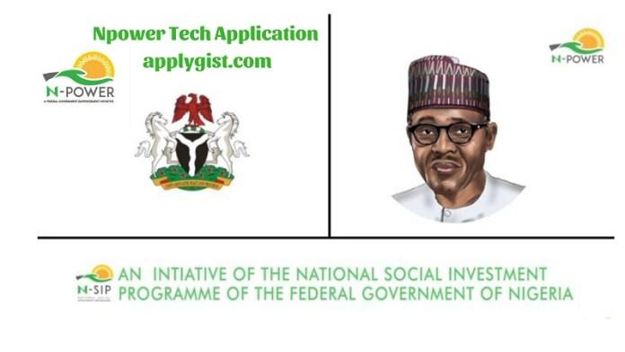 Npower Tech Application for September 2018 Open
