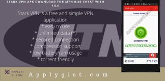 Stark VPN APK Download for MTN 0.00 Cheat With File