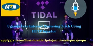 Uganda Free Internet Browsing Trick USing HTTP Injector applygist.com