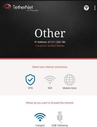 download TetherNet VPN