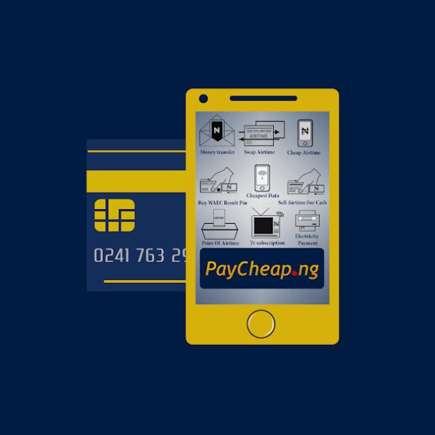 Paycheap.ng Cheap Bill payment App and Website