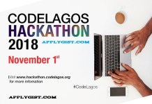 Apply First Ever CodeLagos Hackathon