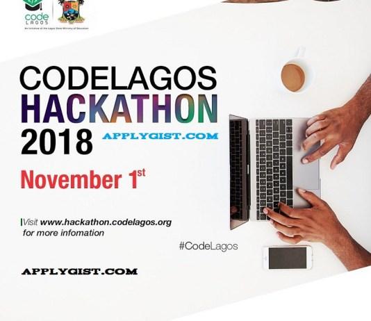 Apply First Ever CodeLagos Hackathon