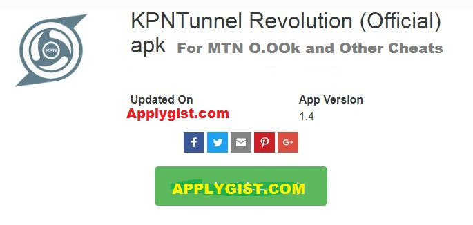 KPN Tunnel Revolution APK App Version 1.4 Latest