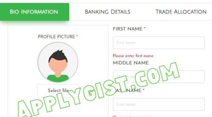applygist N-Power Build Registration