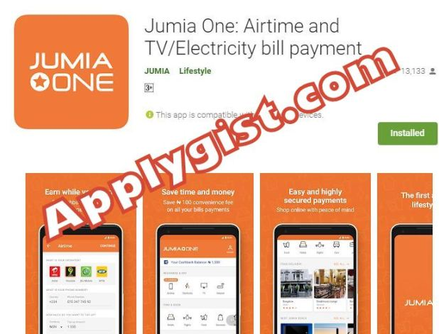 Jumia One Airtime and TV Electricity bill payment