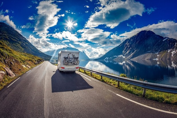 Motorhoming in Europe & England