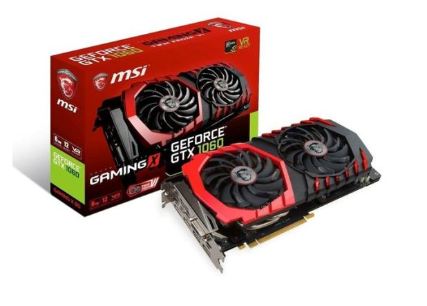 Nvidia GeForce GTX 1060 3GB 6GB