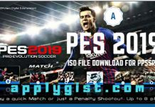 PES 2019 ISO File Download For PPSSPP On Android by Jogress