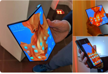Mate X a foldable 5G phone