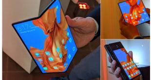 Mate X a foldable 5G phone