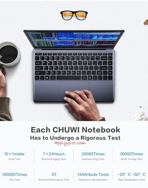 CHUWI HeroBook Intel Quad-Core Processor