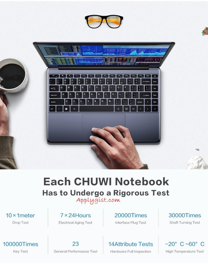 CHUWI HeroBook Intel Quad-Core Processor