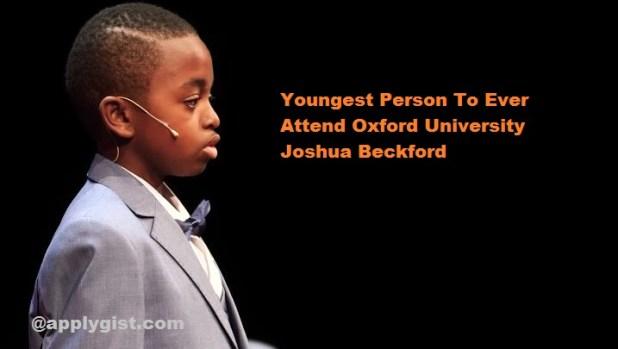 Joshua Beckford biography and country
