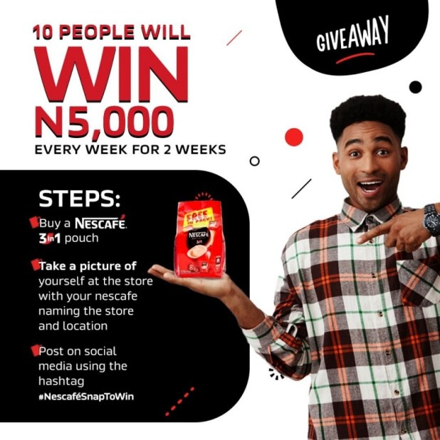 The Nescafé Get Started promo