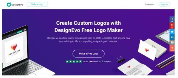 DesignEvo how does it work