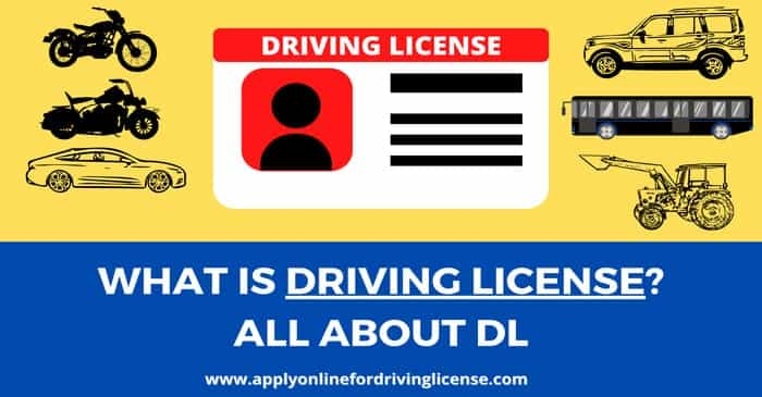 driving license in india online