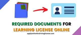 documents for learning license in india