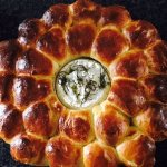 Brioche and Baked Camembert.