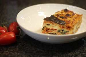 Pork and Spinach Lasagne