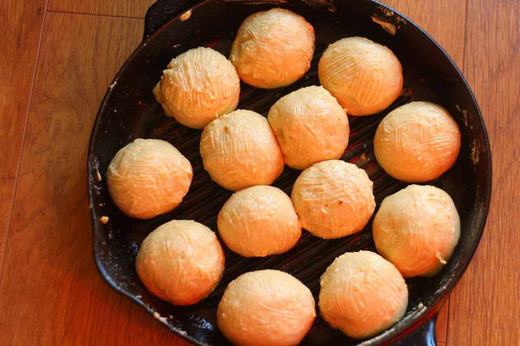 Garlic Bread Rolls first prove