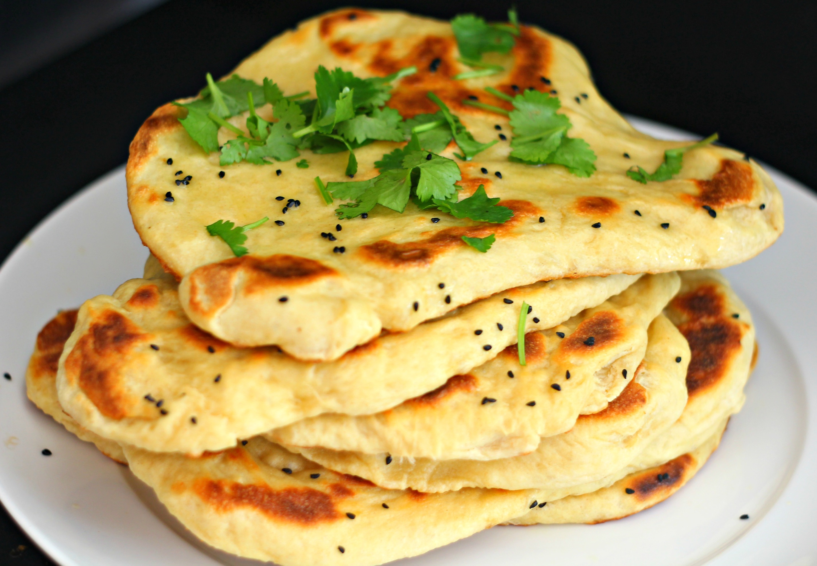 Garlic Naan Bread.