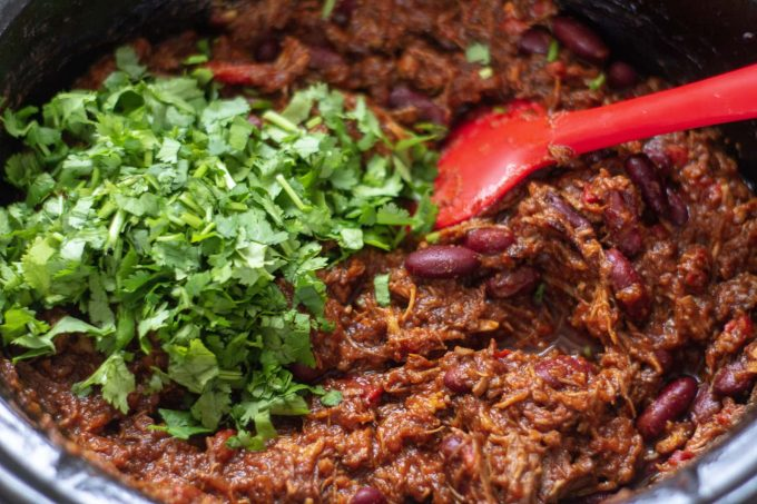 Coriander and Slow Cooker Chilli con Carne
