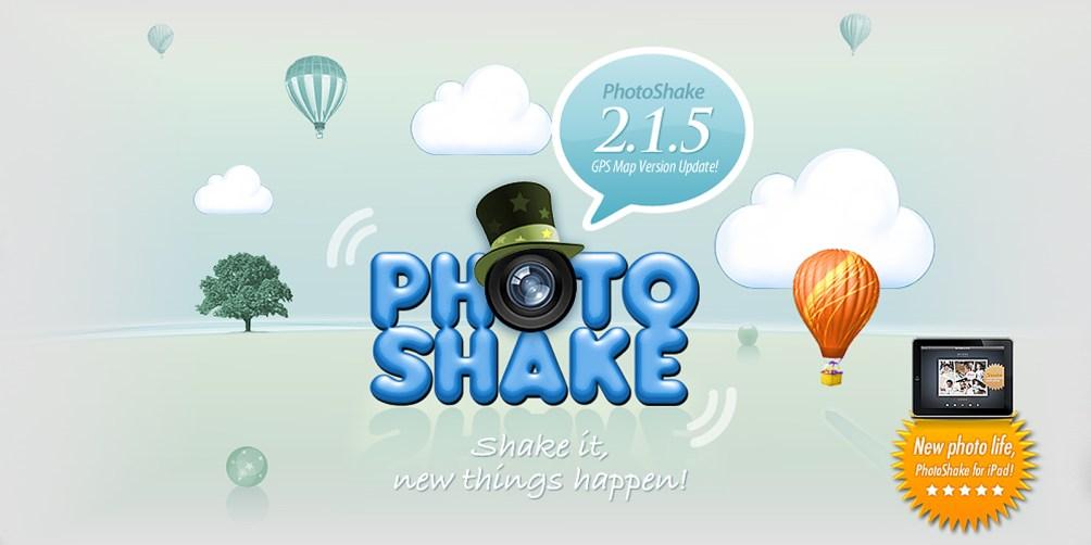 PhotoShake! - 아이패드 버전 출시