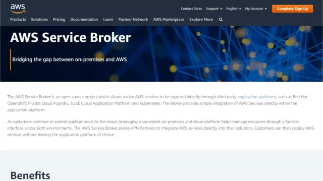AWS Service Broker