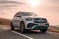 Mercedes-Benz GLE 400d 2019 UK first drive review - hero front