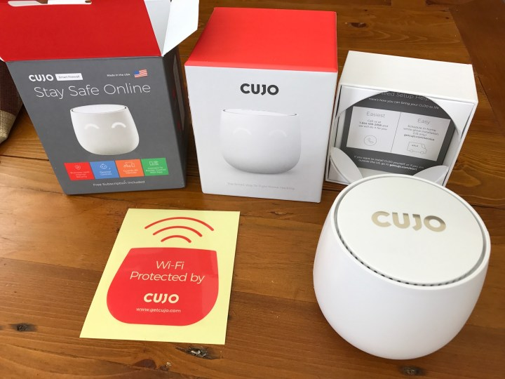 cujo out of box
