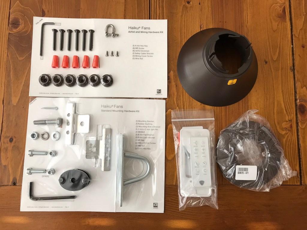 haiku smart fan installation kit