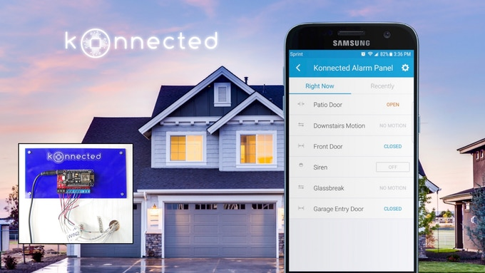 Konnected smart home security