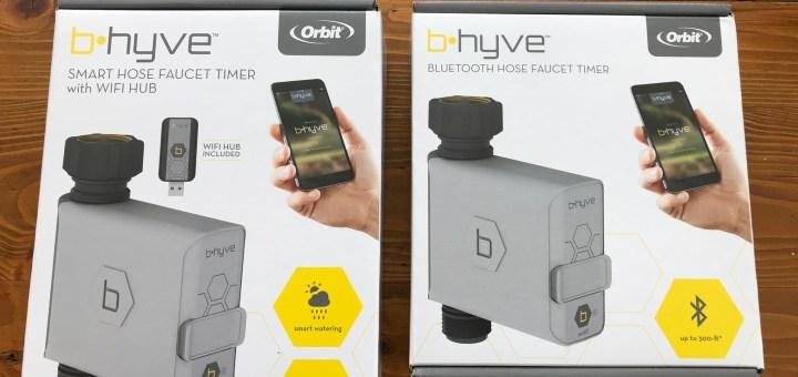 B-Hyve smart hose faucet timers