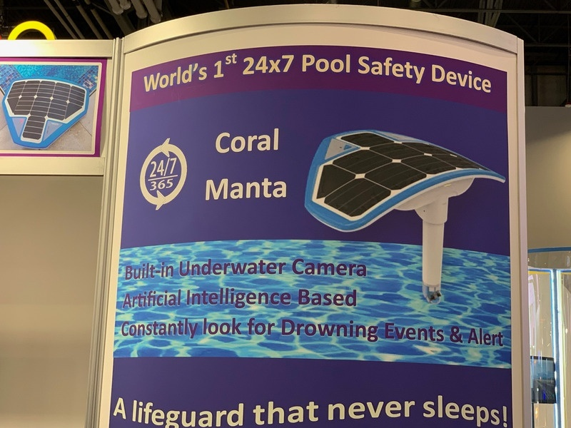 Coral Manta Pool Safety Device CES smart home gadgets