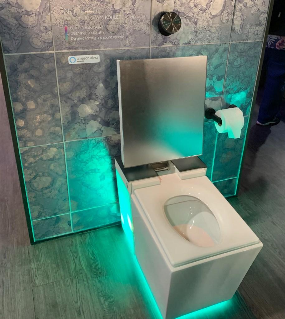 Kohler Numi toilet with Alexa