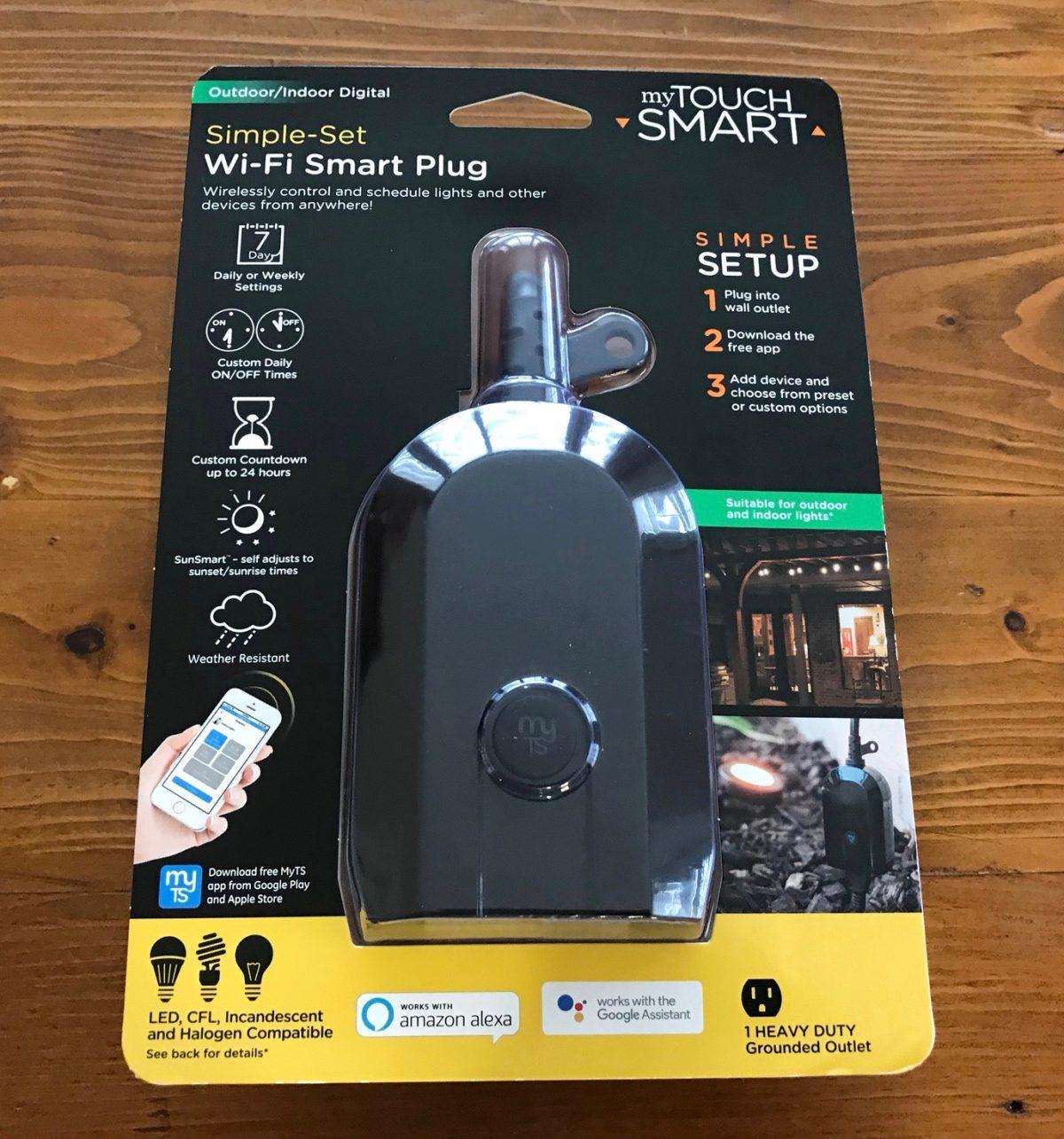myTouchSmart Outdoor Wi-Fi Smart Plug