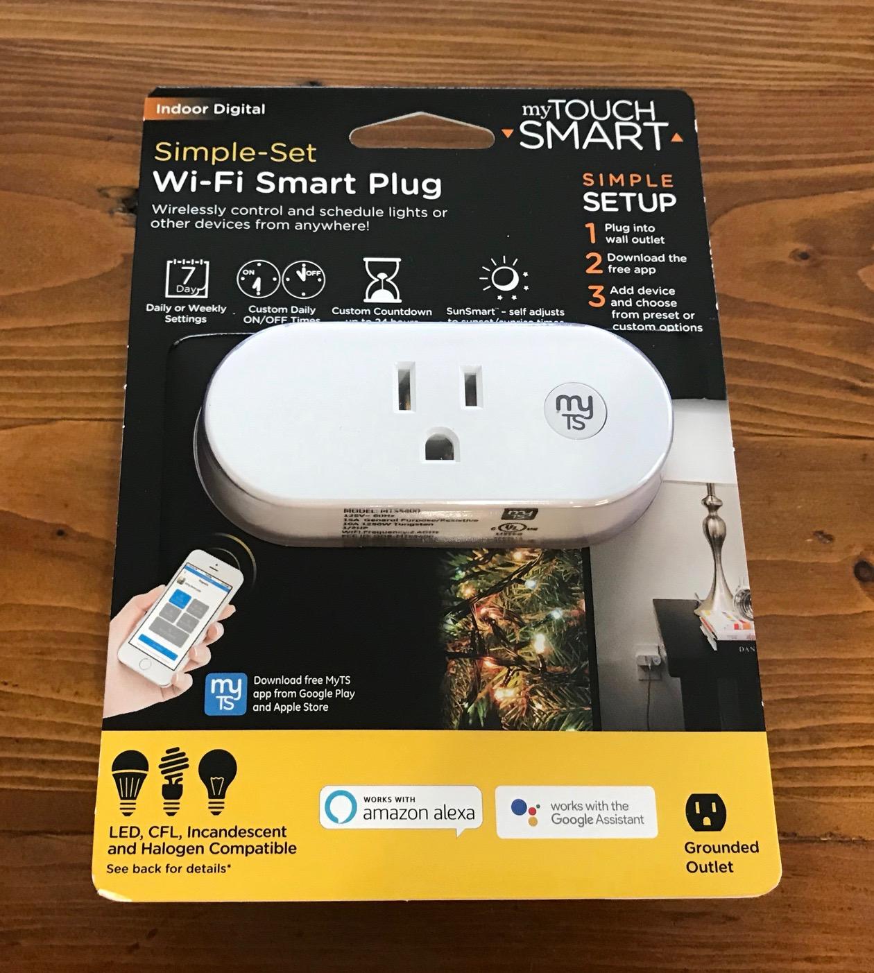 mytouchsmart indoor Wi-Fi Smart Plug