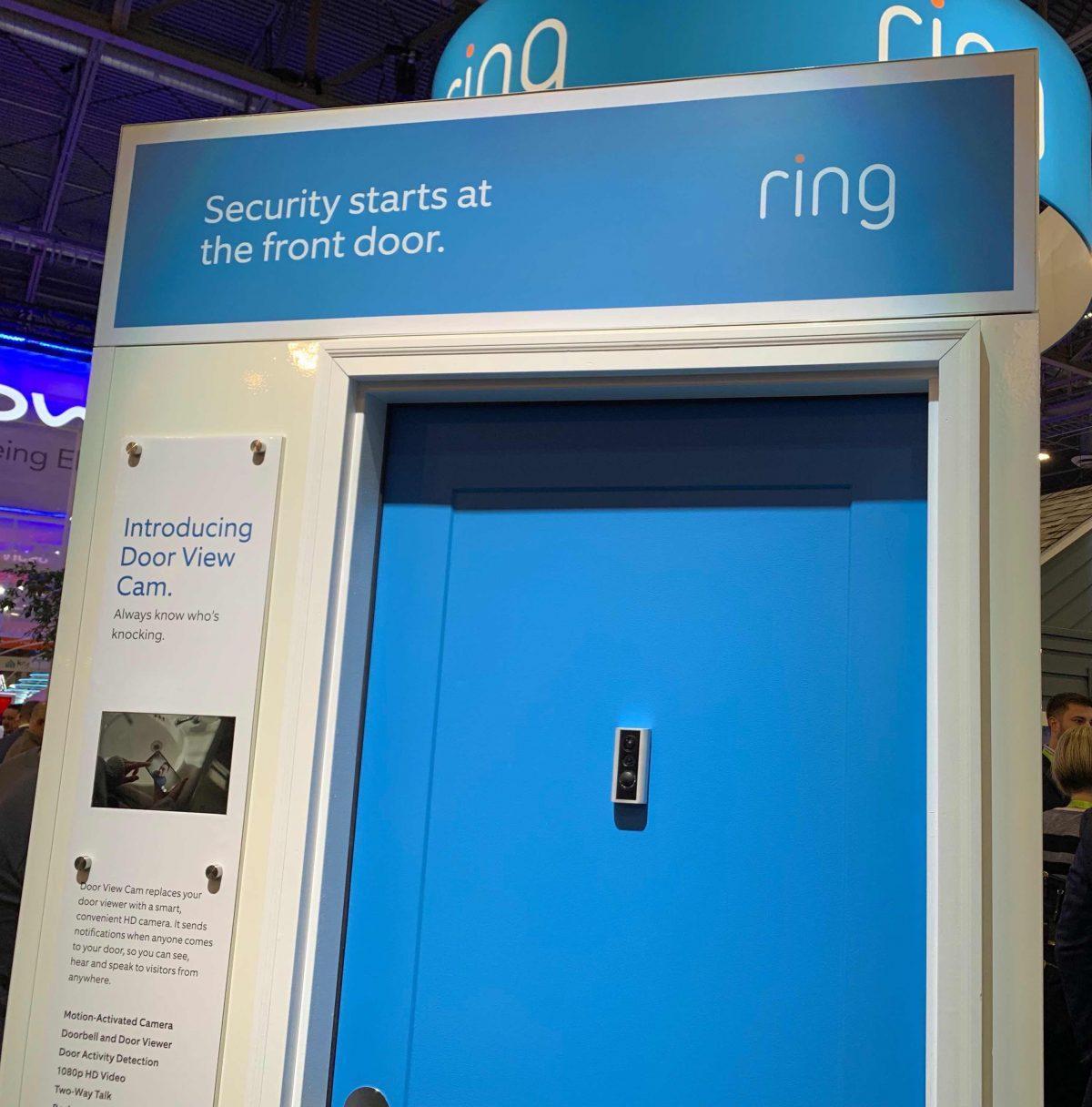 Ring Door View Cam CES smart home gadgets