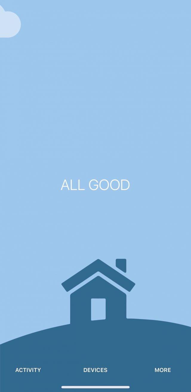 guardian app home screen