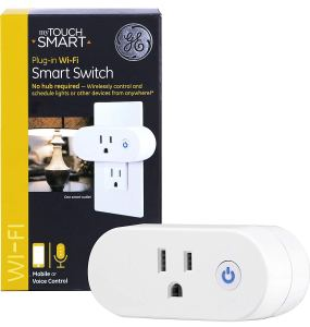 GE myTouchSmart WiFi Smart, Indoor Plug-in Mini Outlet