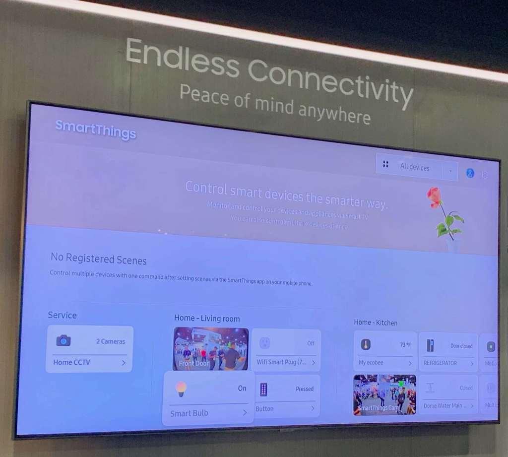 Samsung TV SmartThings