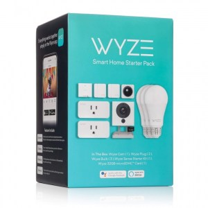 Wyze Smart Home Starter Kit Box